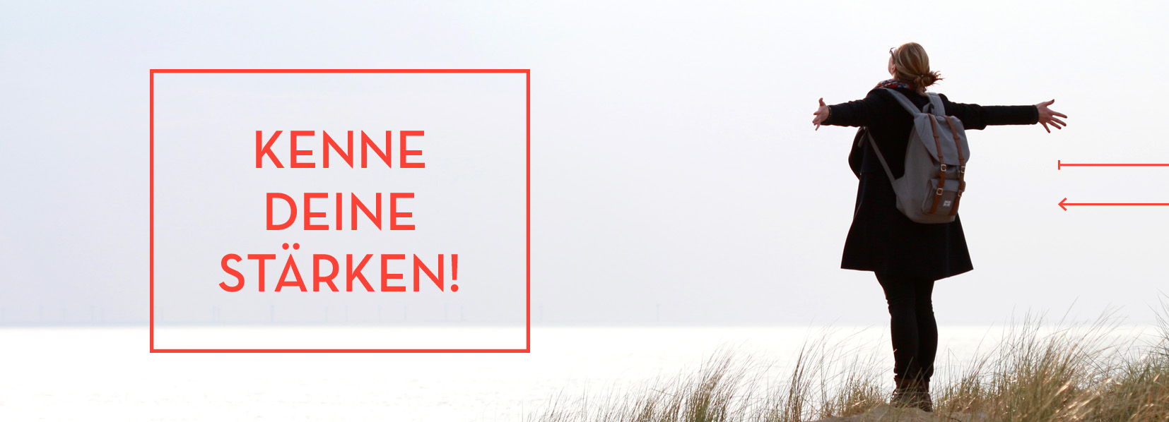 Daniela Römer am Strand - Kenne deine Stärken