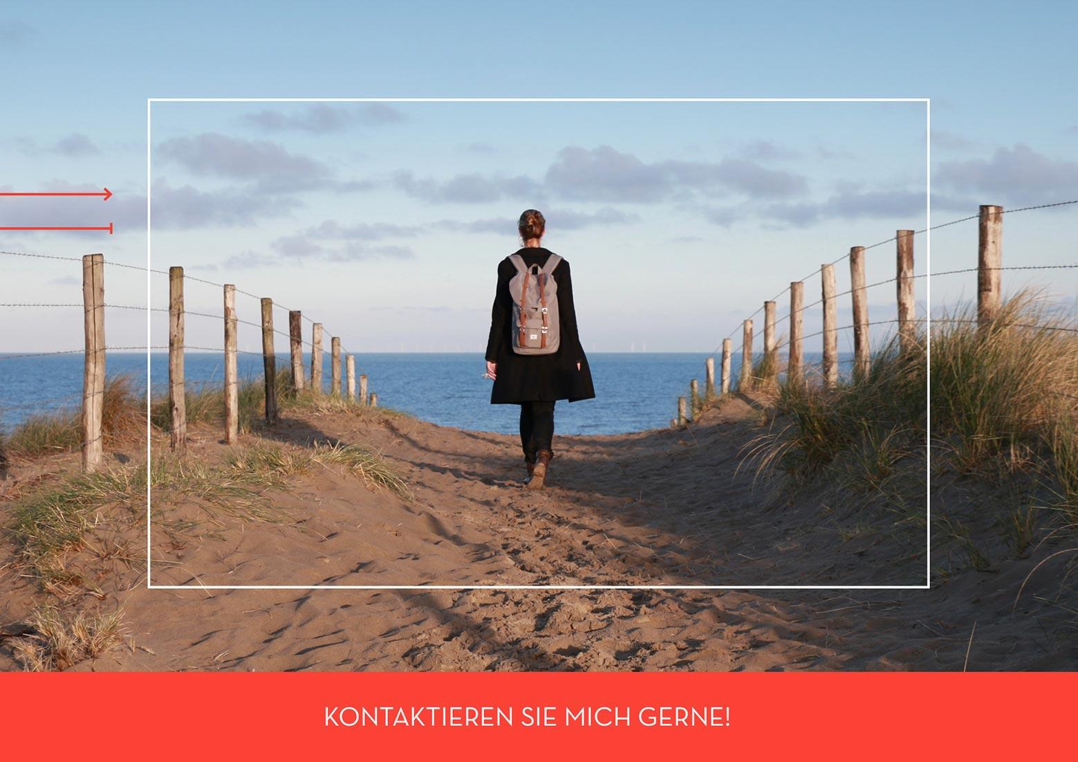 Daniela Römer von sei Startklar am Strand